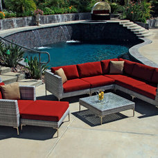 Modern Patio by PatioProductions