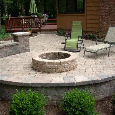 Patio - traditional patio idea in Cleveland