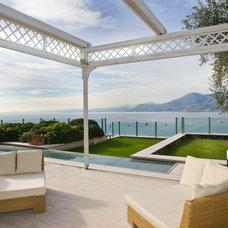 Mediterranean Patio by Ivo Enrico Poluzzi Architect Studio