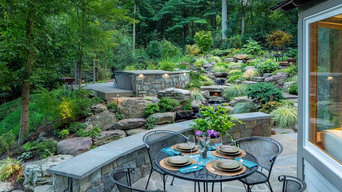 A HILLSIDE WATERFALL SANCTUARY