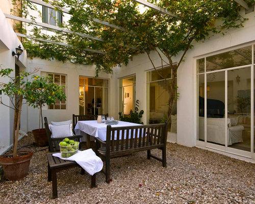 Courtyard Pergola Houzz