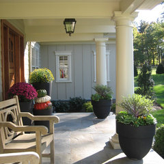 eclectic patio by Arbor Hill Interiors
