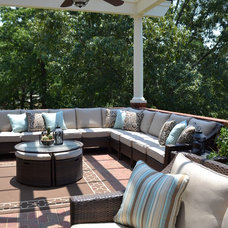 Traditional Patio by Modern Antiquity, LLC