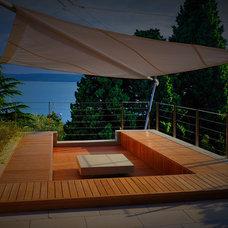 Contemporary Patio by Landscape d.o.o. Slovenia