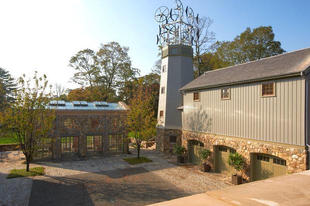 Farmhouse Patio by Devore Associates