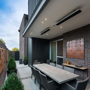 Contemporary patio in Melbourne.