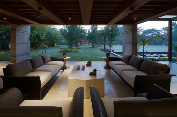 Modern Patio by Hiren Patel Architects