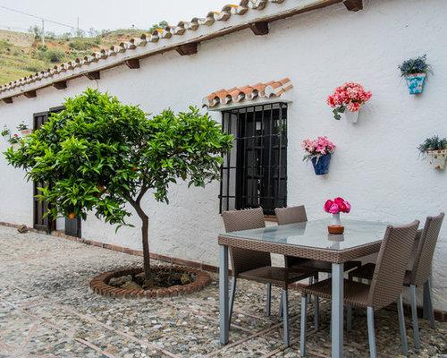 Ideas para patios dise os de patios con adoquines de for Patios con piedras