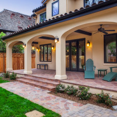 Mediterranean Patio by James Crist Builders, Inc.