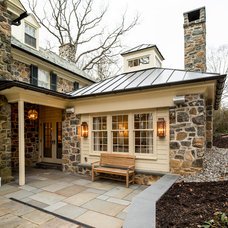 Traditional Patio by Period Architecture Ltd.