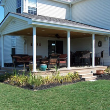 Traditional Patio by West Construction LLC