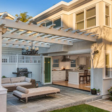 Contemporary Patio by Christian Rice Architects, Inc.