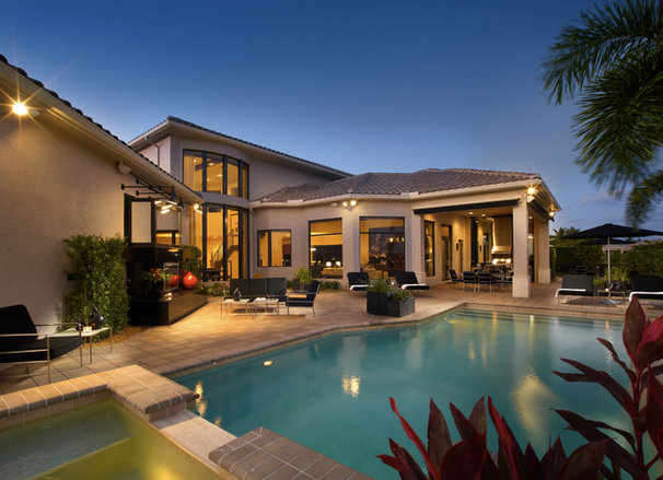 Contemporary Patio by Jeffrey King Interiors