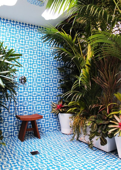 Mediterranean Patio by Granada Tile