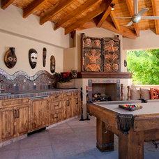 Eclectic Patio by Earth Art Landscape