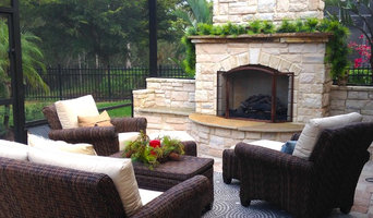 After- Furnished Custom Gas Fireplace