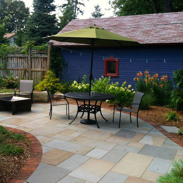 After Photo of Backyard Space