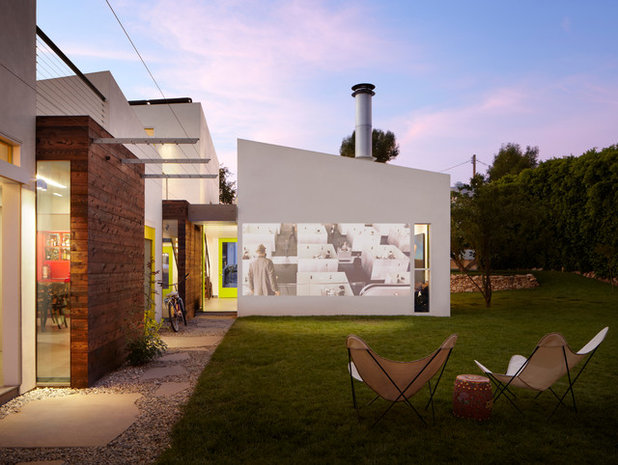 Contemporary Patio by The American Institute of Architects