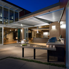 Contemporary Patio by Architectural Workshop