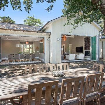 Alamo, CA. Farmhouse. Full Service Design Firm. Exterior. Indoor Outdoor Living