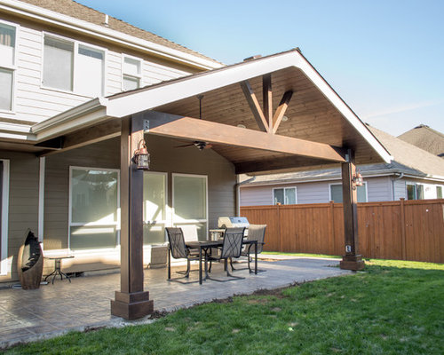 Gabled Patio Cover Design Ideas Amp Remodel Pictures Houzz