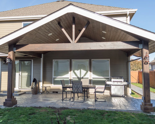 Gabled Patio Cover Design Ideas Remodel Pictures Houzz
