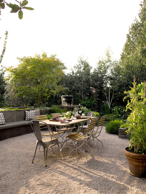 Crushed Stone Patio | Houzz