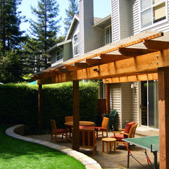 contemporary patio by Ami Saunders, MLA