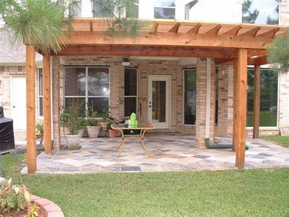 traditional patio by All-Tex