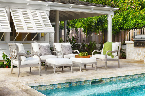 Awesome Beach Style Patio by Laura Hay DECOR u DESIGN