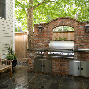 Outdoor Grill Station   Houzz on Patio Grill Station id=30527