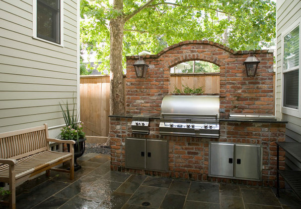 Traditional Patio by Allegro Builders