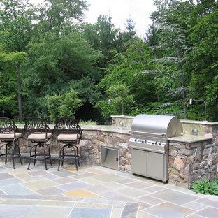 Alpine NJ - Natural Outdoor Kitchen & Patio Design NJ