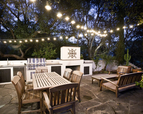 Houzz Cafe String Lights Design Ideas & Remodel Pictures
