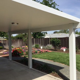 Alumawood patio  cover. Feels indoors from inside, looks outdoors from outside.