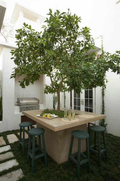 Mediterranean Patio by Artisan of Seagrove
