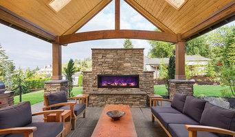 Amantii Panorama BI-50-Deep Indoor/Outdoor Electric Fireplace