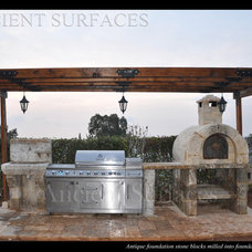 Mediterranean Patio by Ancient Surfaces