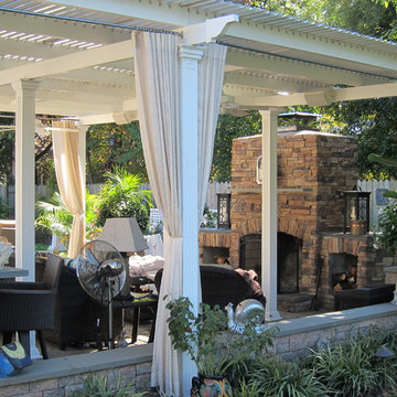 American Louvered Roof 2