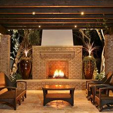 Traditional Patio by AMS Landscape Design Studios, Inc.