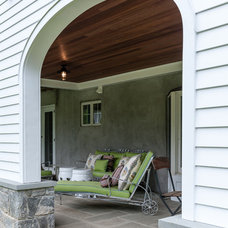 Traditional Patio by Fivecat Studio | Architecture