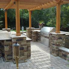 Traditional Patio by Platinum Site Development