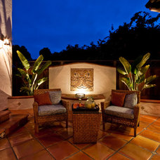 Mediterranean Patio by Jay Andre Construction, Inc.