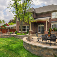 Traditional Patio by Sebring Services