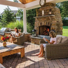 Traditional Patio by Angerstein's Lighting & Design Center