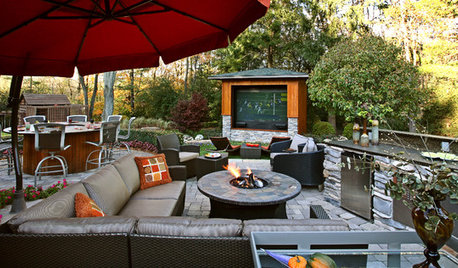 Outdoor Spaces Perfect for Watching the First Game of the Season