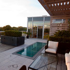 Deck Life For Cats And People Contemporary Patio