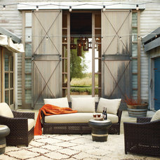 Farmhouse Patio by McGuire Furniture Company