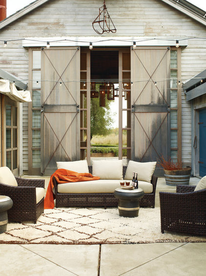 traditional patio by McGuire Furniture Company