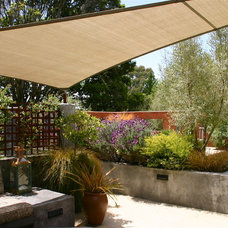 Contemporary Patio by Kathleen Shaeffer Design, Exterior Spaces